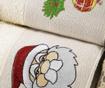 Zestaw 2 ręczników do twarzy Santa Mistletoe 40x60 cm