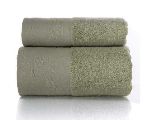 Zestaw 2 ręczniki kąpielowe Ankara Light Olive