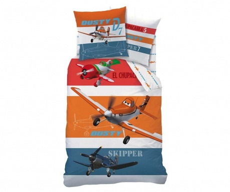 Set de pat Single Ranforce Extra Planes Skipper