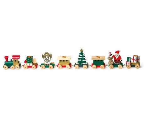 Christmas Train Gyertyatartó