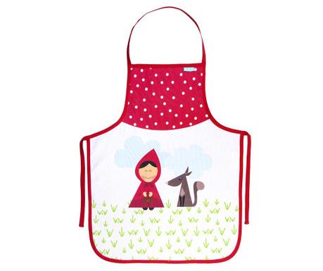 Otroški kuhinjski predpasnik Red Riding Hood