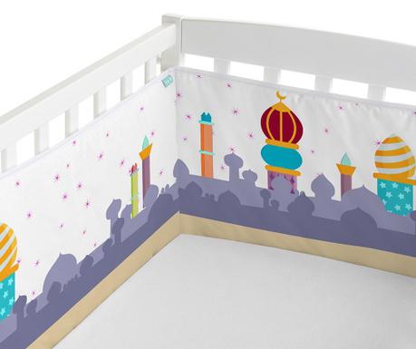 Zaščita  za otroško posteljico Magic Rug Landscape