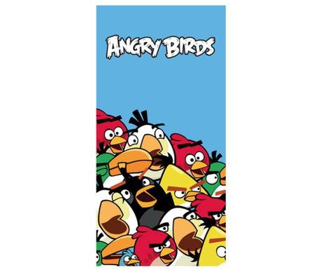 Angry Birds Crowd Fürdőszobai törölköző 75x150 cm