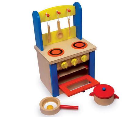 Kuchnia zabawkowa z akcesoriami Sally