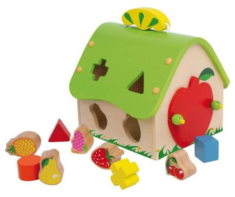 Играчка с форми Fruit House