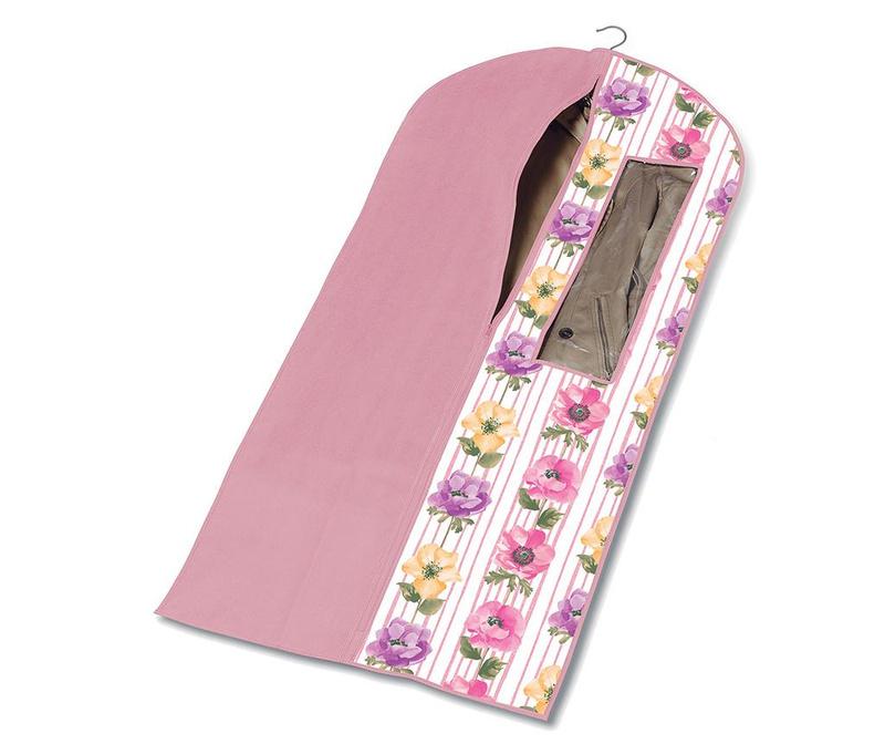 Husa pentru haine Beauty Flowers 60x137 cm