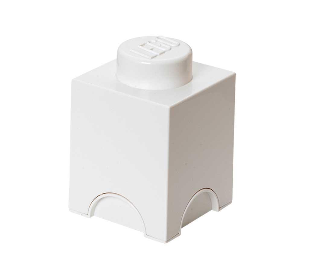 Kutija s poklopcem Lego Square White