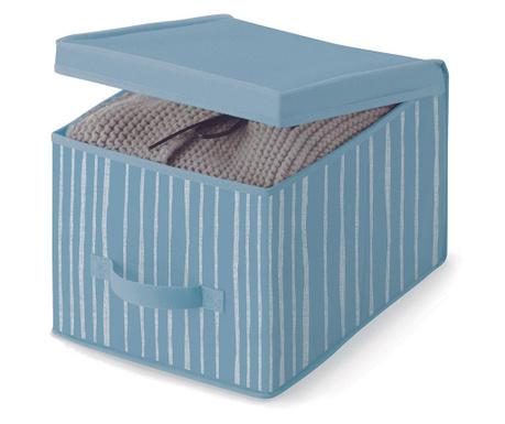 Skladovacia krabica s vrchnákom Beauty Stripes