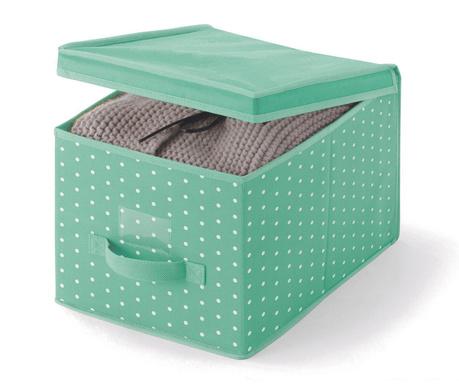 Shranjevalna škatla s pokrovom Vintage Green