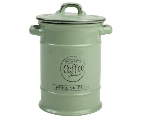 Posuda za kavu s poklopcem Pride Green 1 L