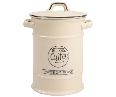 Pojemnik z pokrywką na kawę Pride Cream 1 L