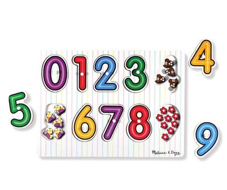 11-dijelna igra tipa slagalice Colourful Numbers