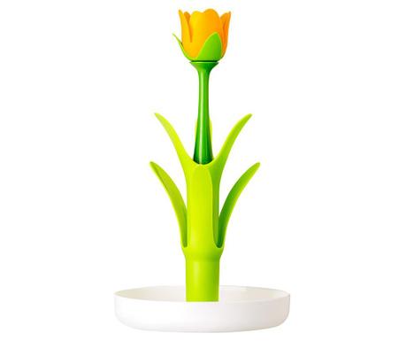 Flower Power Green Bögre-  és pohártartó