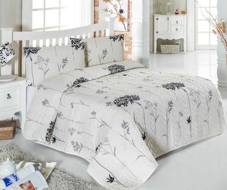 Set s prešitim posteljnim pregrinjalom Double Efil