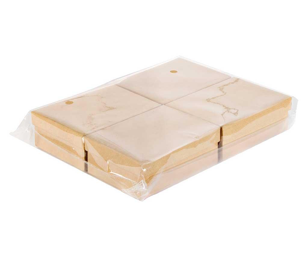 Simple 4 db Festhető doboz fedővel