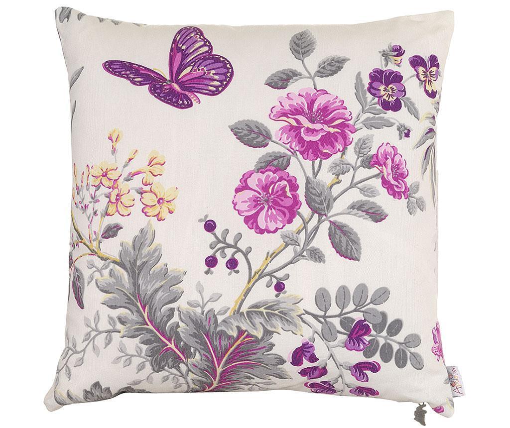 Prevleka za blazino Purple Butterfly 41x41 cm
