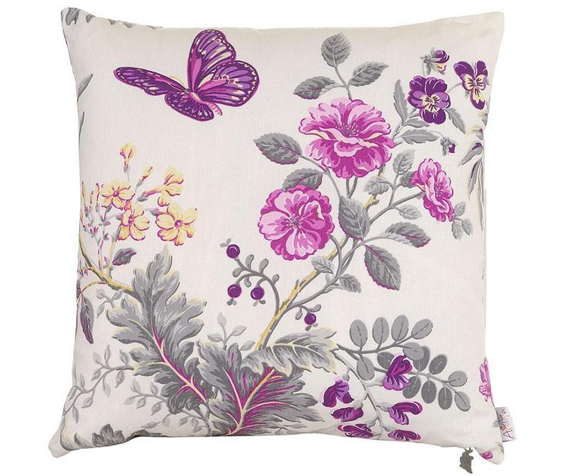 Fata de perna Purple Butterfly 41x41 cm