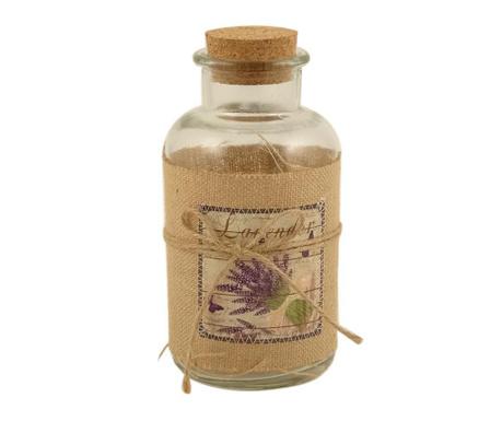 Dekoračná fľaša so zátkou Lavender Bouquet