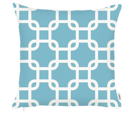 Poszewka na poduszkę Blue Cuadrado 43x43 cm