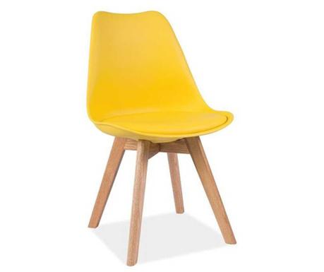 Krzesło Korso Style Yellow