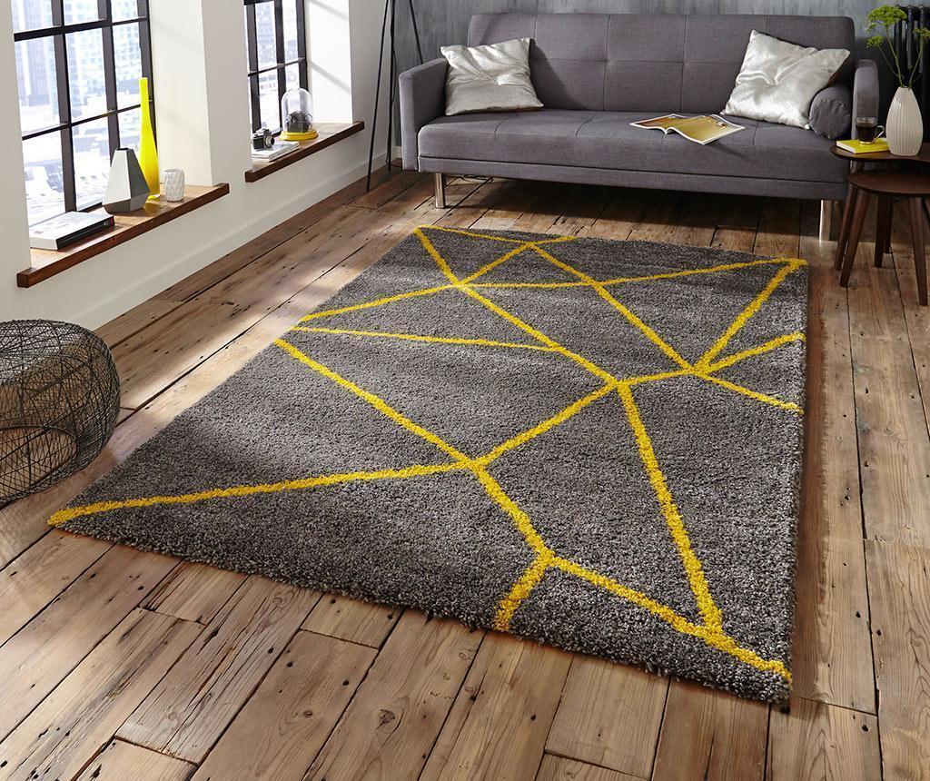 Tepih Nomadic Grey Yellow 160x230 cm