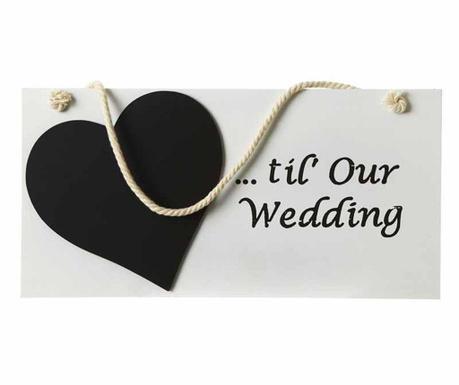 Nástenná dekorácia Wedding