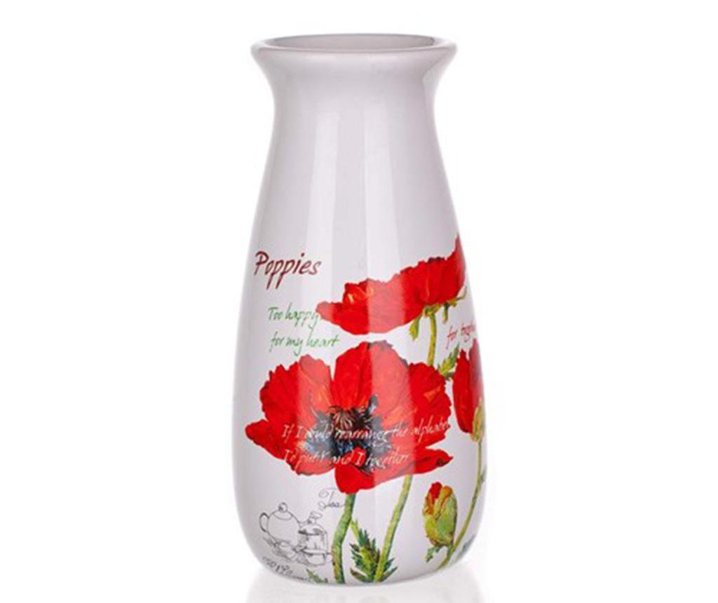 Vaza Red Poppy