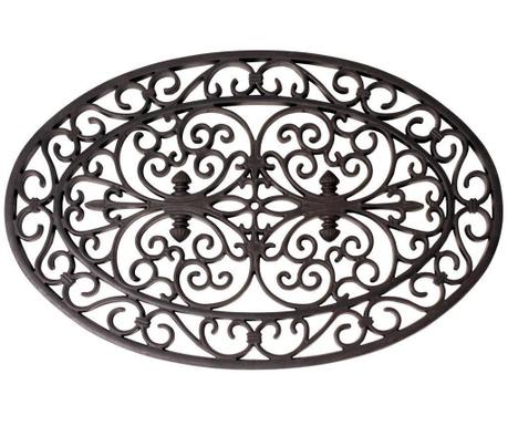 Covoras de intrare Black Motif 44.3x69.5 cm