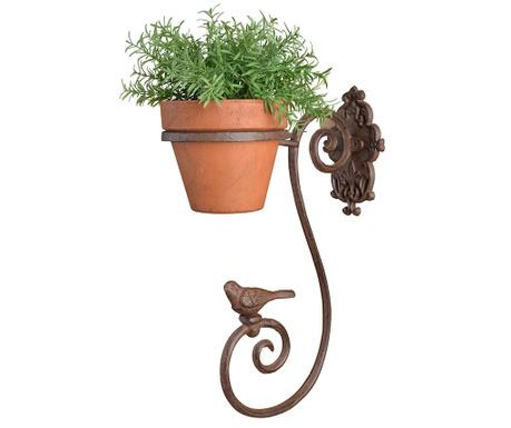 Zidni držač za posude za cvijeće Birdy