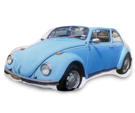 Dekorační polštář Beetle Blue 23x40 cm