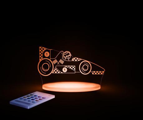 Race Car Éjjeli fény