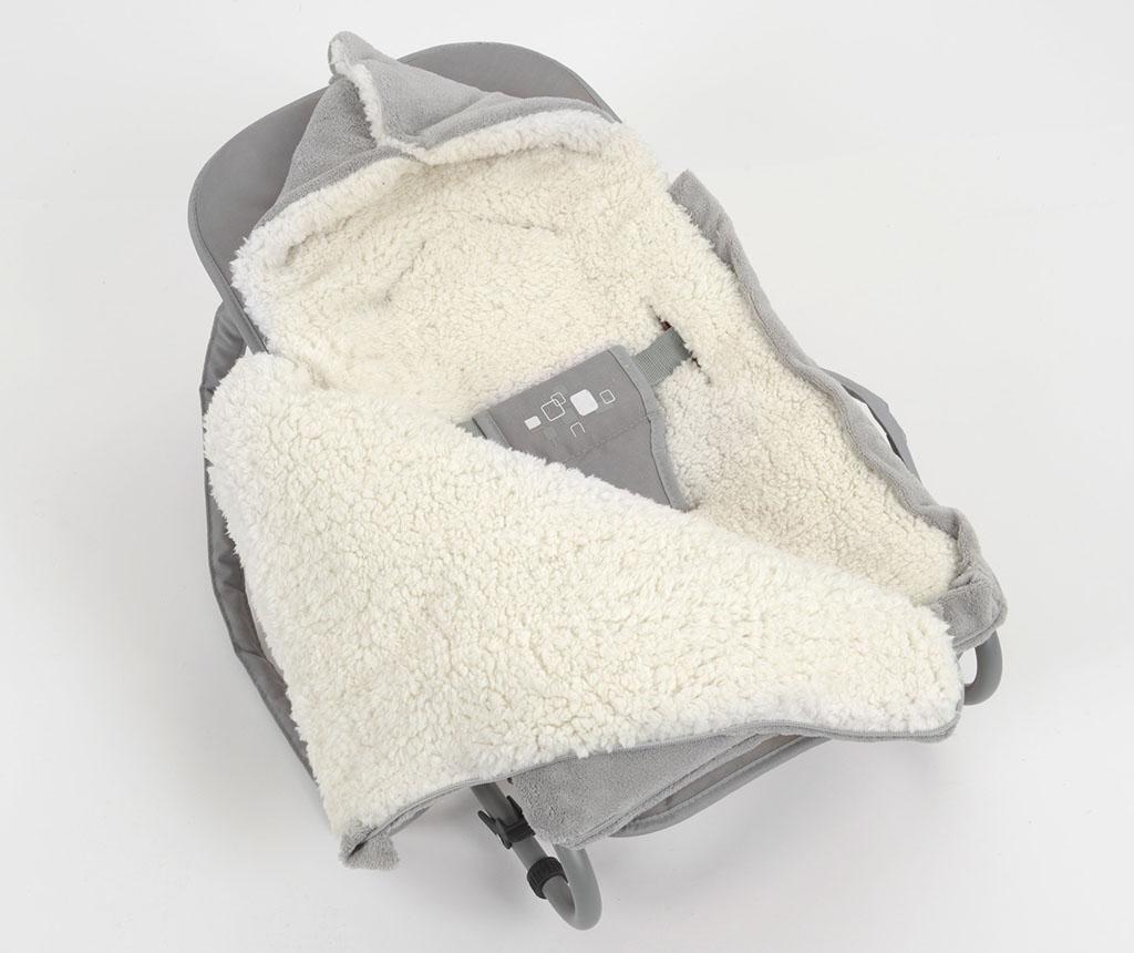 Spalna vreča Cocoon Grey 0-6 mesecev