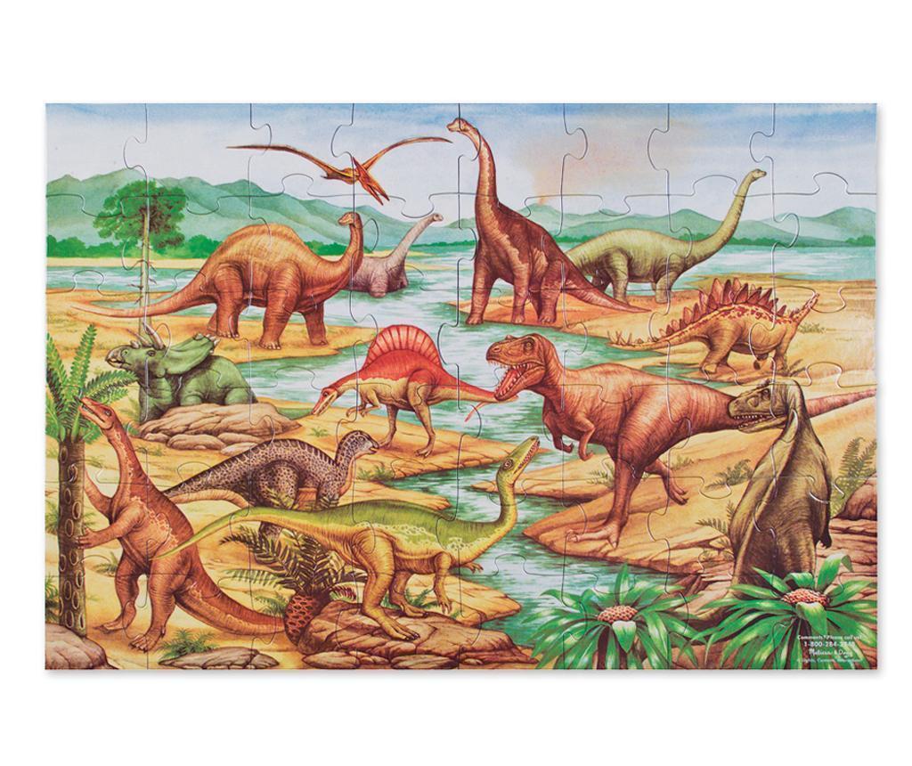 Talna sestavljanka z 48 kosi Dinosaurs