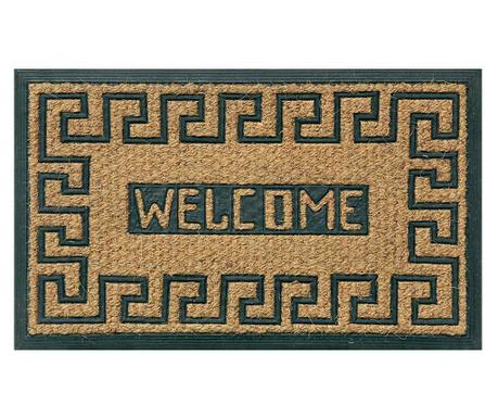 Doormat Welcome Pattern 45x75 cm