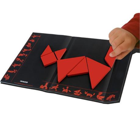 Edukativna igra 8 dijelova Tangram Red