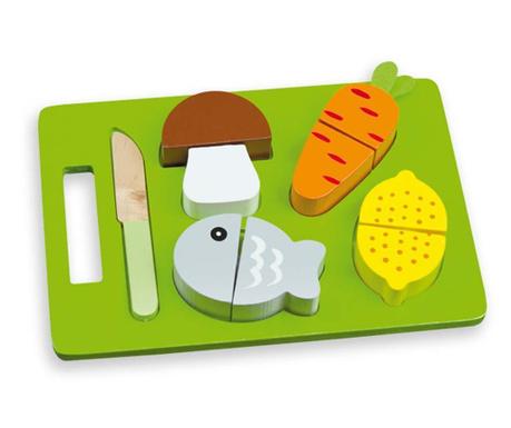 Dziesięcioczęściowy zestaw zabawkowej żywności Smart Meal