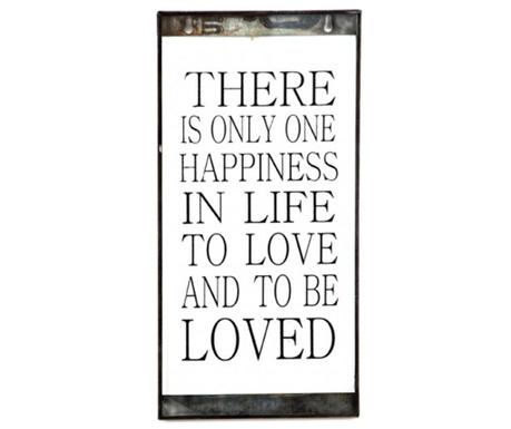 Decoratiune de perete One Happiness
