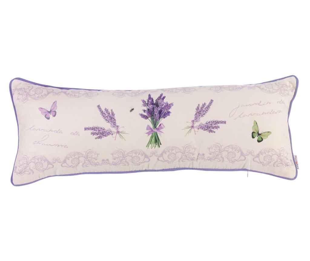 Perna decorativa Lavender Bouquet 25x70 cm