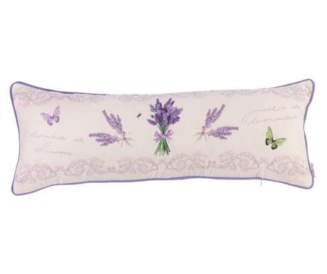 Poduszka dekoracyjna Lavender Bouquet 25x70 cm