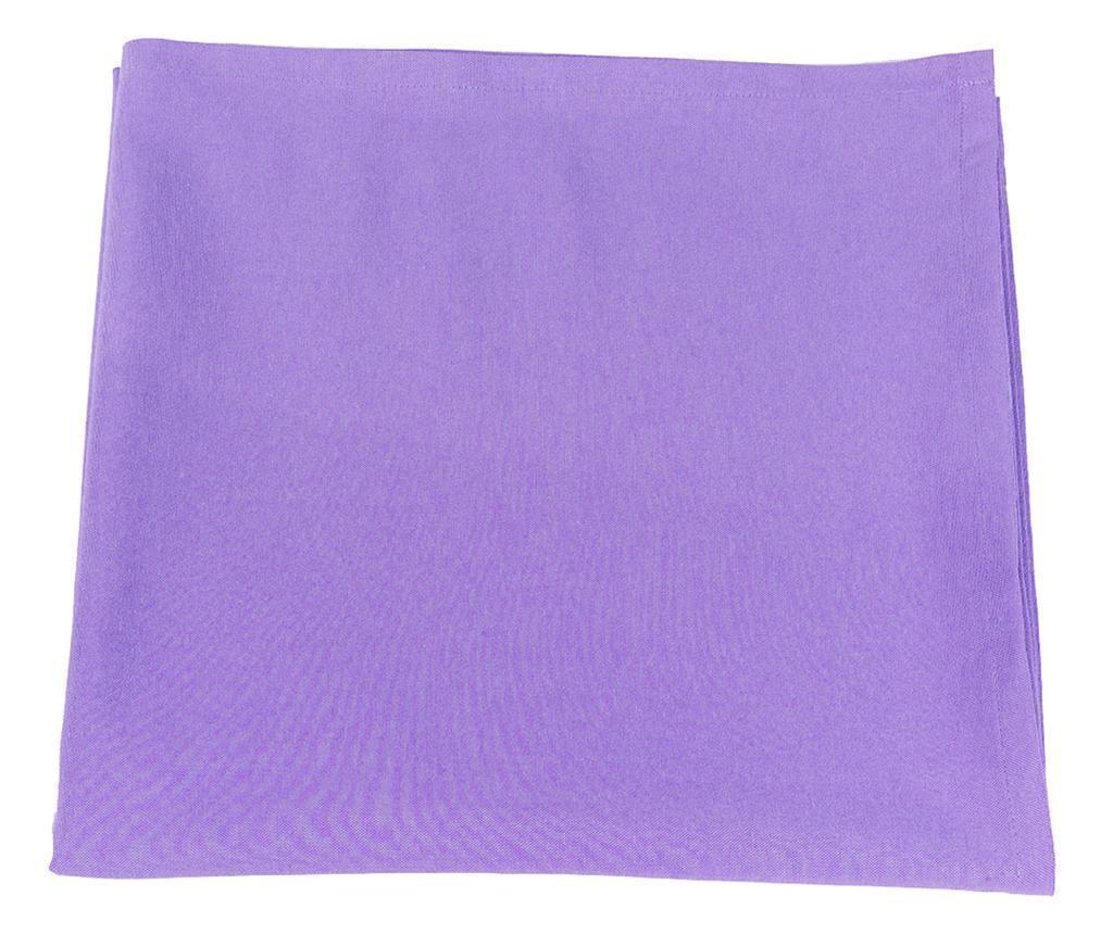 Fata de masa Thoughts Purple 170x170 cm