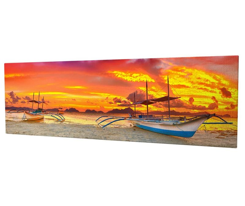 Tablou Sky with Fire 30x80 cm