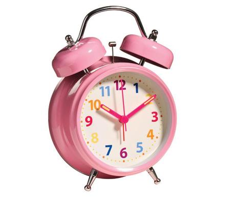 Ξυπνητήρι Twin Pink