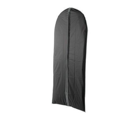 Pokrowiec na ubrania Zippy Black 60x137 cm