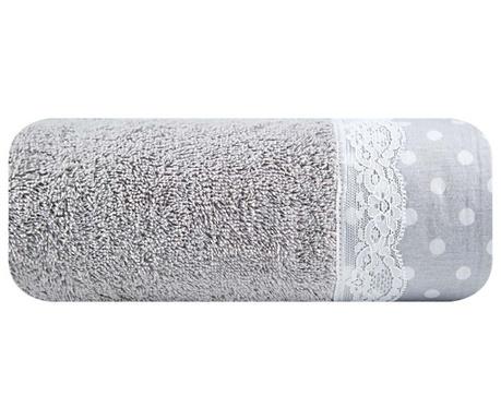 Πετσέτα μπάνιου Sofia Silver 50x90 cm
