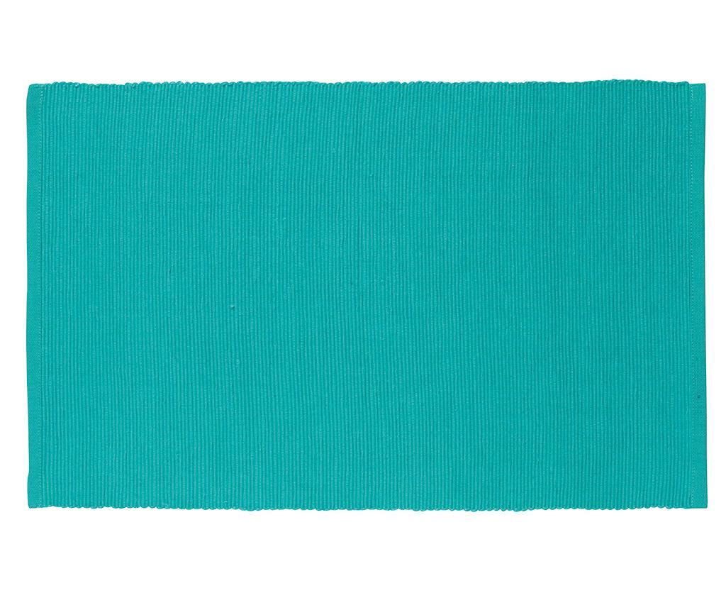 Foster Turquoise Tányéralátét 30x43 cm