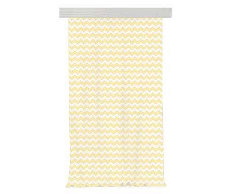 Zasłona Zig Zag Light Yellow 140x270 cm