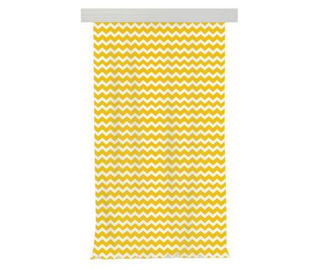 Draperie Zig Zag Yellow 140x270 cm