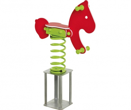 Balansoar cu arc Spring Horse Billy Red