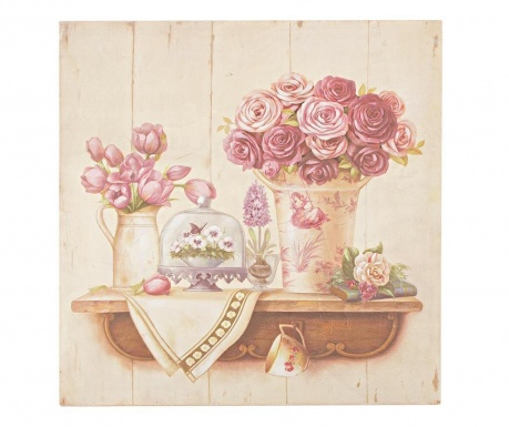 Flowers Deco Festmény 50x50 cm
