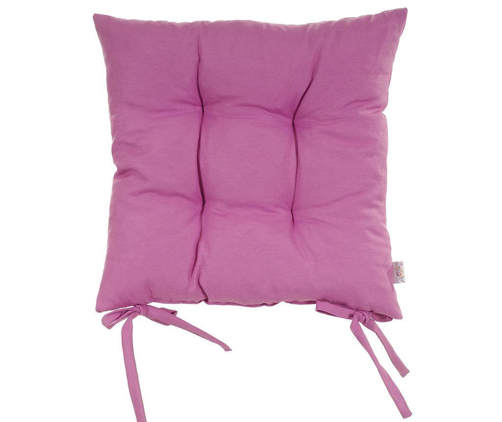 Polštář na sezení Pure Orchid Purple 37x37 cm